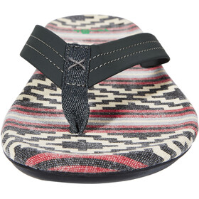 Sanük Planer TX Zapatillas Hombre, gaucho blanket black red